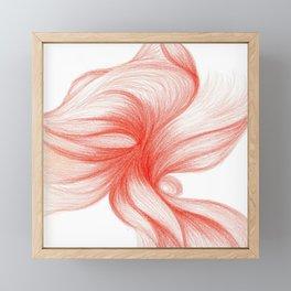 Écarlate Singularis Framed Mini Art Print
