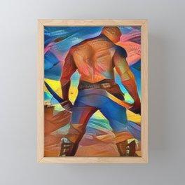 Drax Framed Mini Art Print