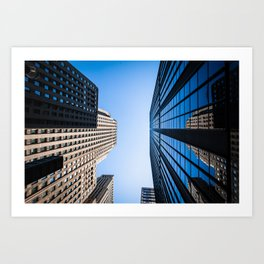 Chicago Buildings Art Print