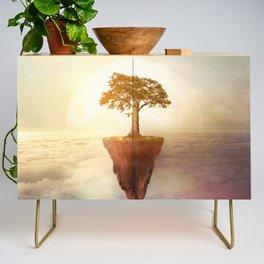 Floating tree Credenza