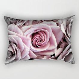 Pink Rose : Pop of Color Rectangular Pillow