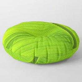 banana tree leaf Floor Pillow