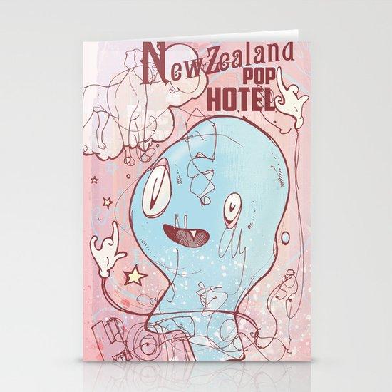 NewZealand Pop Hotel Stationery Cards