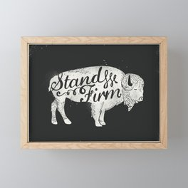 Stand Firm Framed Mini Art Print