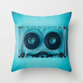 Audio Cassette III Throw Pillow