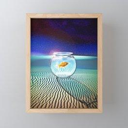 The Tourist Framed Mini Art Print