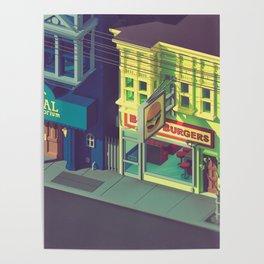 Beefiest burgers in town Poster