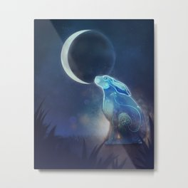 Moongazer Metal Print