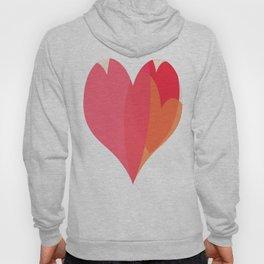Heart love Hoody