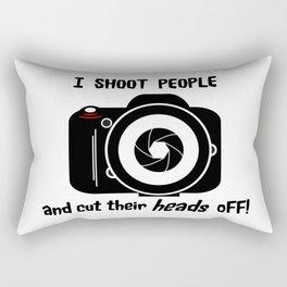 I Shoot People - Photography Fun Design Rectangular Pillow