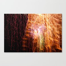Waterfall of light Canvas Print