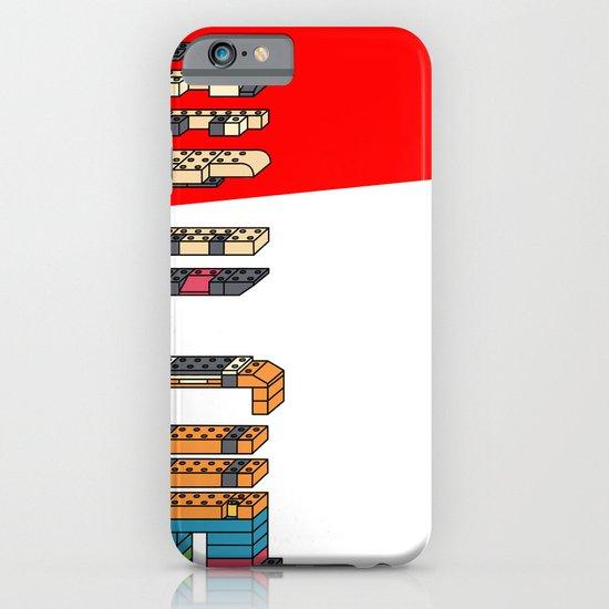 LEGO MAN  iPhone & iPod Case