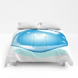 Christmas Star Globe Comforters