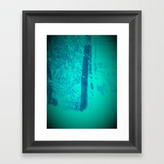 Snow Appreciation Framed Art Print