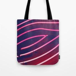 Pink Neon Tote Bag