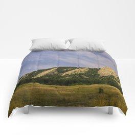 Starry Flatirons Comforters