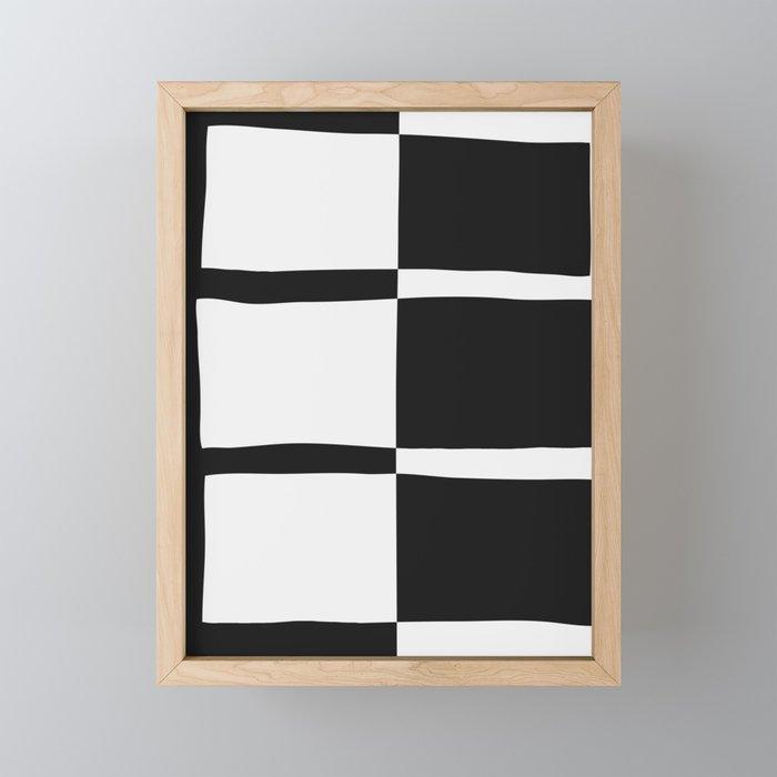 Piano Plays Framed Mini Art Print