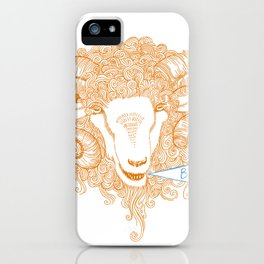 Beh! iPhone Case