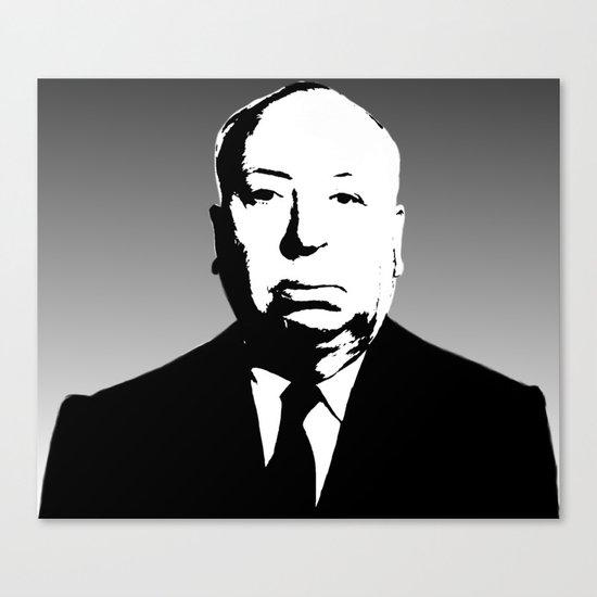 The Master Of Suspense Canvas Print