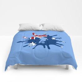 The Flag of Australia II Comforters