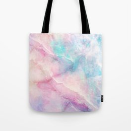 Iridescent marble Tote Bag