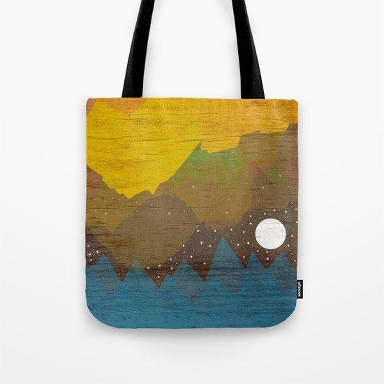 Cloudy Sea Tote Bag