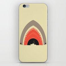 Great White Bite iPhone & iPod Skin