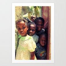 Haiti.  Art Print