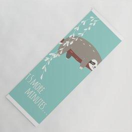 Sloth card - just 5 more minutes Yoga Mat