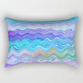 Unicorn Brainwaves Rectangular Pillow