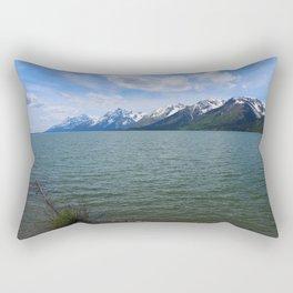 Jackson Lake Impression Rectangular Pillow