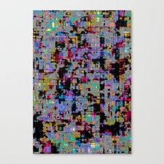 smack my glitch up Canvas Print