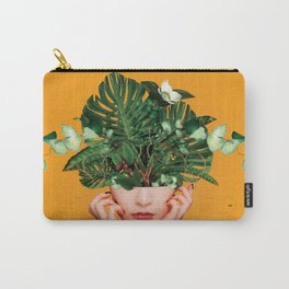 Lady Flowers || Carry-All Pouch