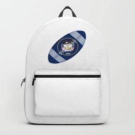 Utah State USA Football Flag Backpack
