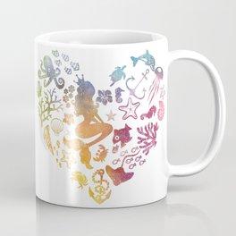 Mermaid Heart Coffee Mug