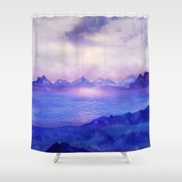 Wish You Were Here 04 Shower Curtain
