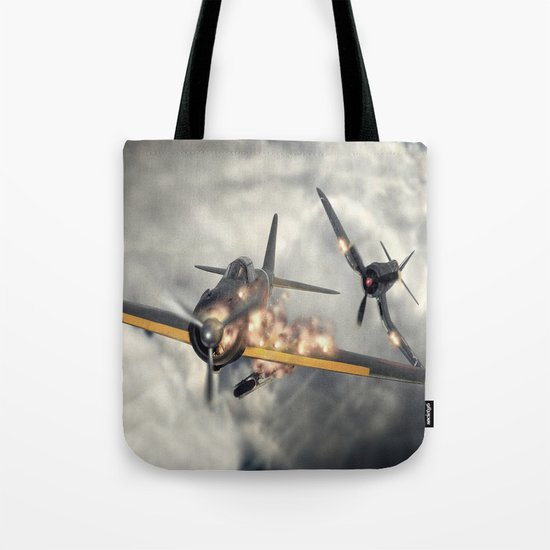 Watch your six! Tote Bag