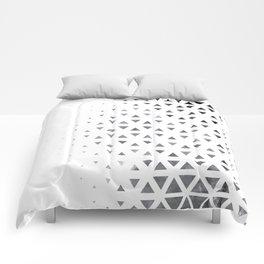 GEOMETRIC SERIES III Comforters