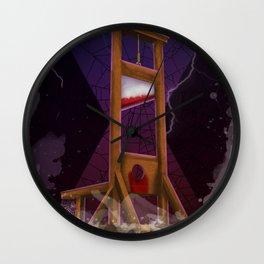 The Nightmare Returns Wall Clock