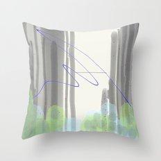 Late Confetti Throw Pillow