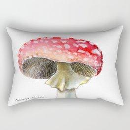 Fly Amanita Rectangular Pillow