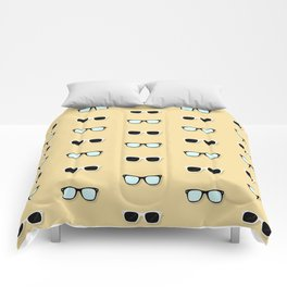 All Them Glasses - Yellow Comforters