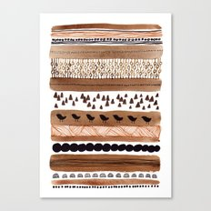 Pattern / Nr. 3 Canvas Print