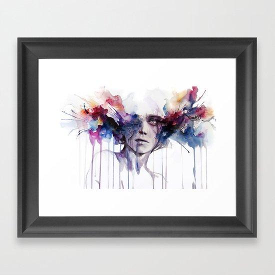 l'assenza Framed Art Print