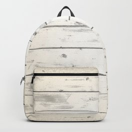Light Natural Wood Texture Backpack