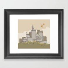 Moore's Big City Framed Art Print