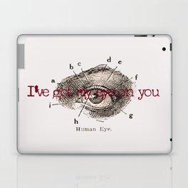 I've got my eye on you vintage illustration Laptop & iPad Skin