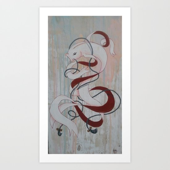 KOI KOI Art Print