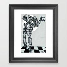 DANCE HALL Framed Art Print