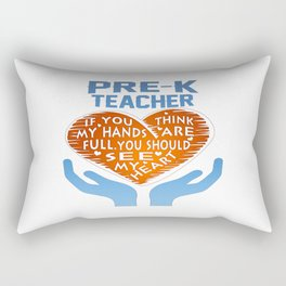 Pre-K Teacher Rectangular Pillow